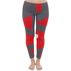 Decorative Abstraction Winter Leggings
