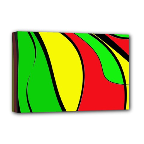 Colors Of Jamaica Deluxe Canvas 18  x 12