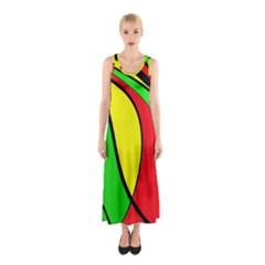 Colors Of Jamaica Sleeveless Maxi Dress