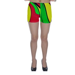 Colors Of Jamaica Skinny Shorts