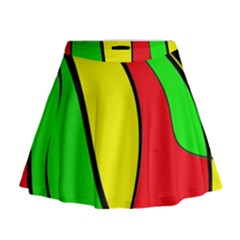 Colors Of Jamaica Mini Flare Skirt