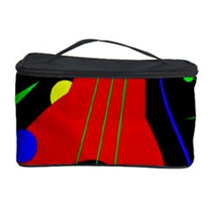 Abstract guitar  Cosmetic Storage Case
