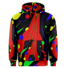 Abstract guitar  Men s Pullover Hoodie