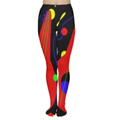 Abstract guitar  Women s Tights