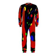 Abstract guitar  OnePiece Jumpsuit (Kids)