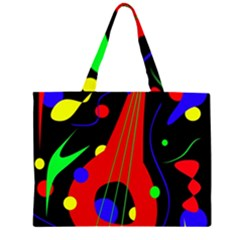 Abstract guitar  Large Tote Bag