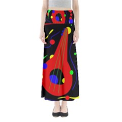 Abstract guitar  Maxi Skirts