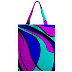 Purple and Blue Classic Tote Bag