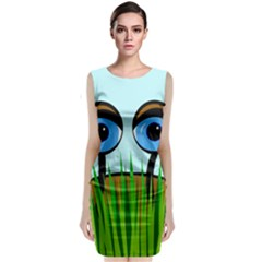 Snail Classic Sleeveless Midi Dress