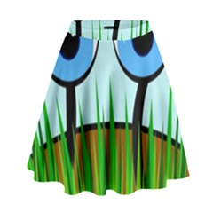 Snail High Waist Skirt