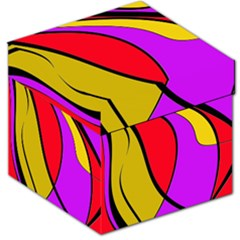 Colorful lines Storage Stool 12