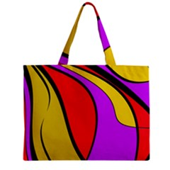Colorful lines Mini Tote Bag