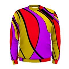 Colorful lines Men s Sweatshirt