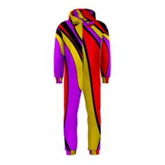 Colorful lines Hooded Jumpsuit (Kids)