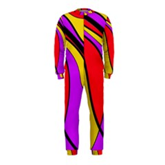 Colorful lines OnePiece Jumpsuit (Kids)