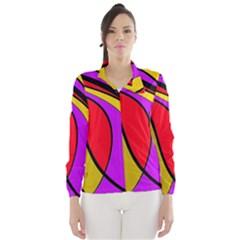 Colorful lines Wind Breaker (Women)