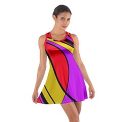 Colorful Lines Racerback Dresses