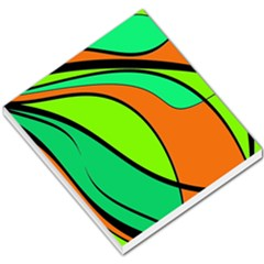 Green and orange Small Memo Pads