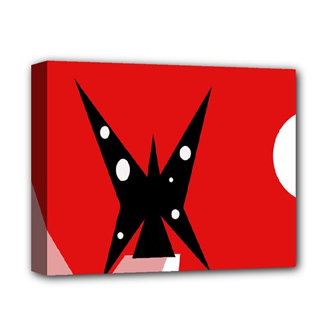 Black butterfly  Deluxe Canvas 14  x 11