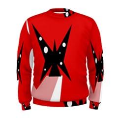 Black butterfly  Men s Sweatshirt