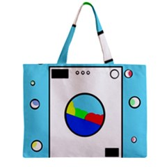 Washing machine  Zipper Mini Tote Bag