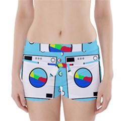 Washing machine  Boyleg Bikini Wrap Bottoms