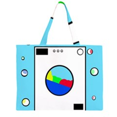 Washing machine  Large Tote Bag