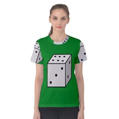 Dice  Women s Cotton Tee