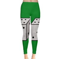 Dice  Winter Leggings