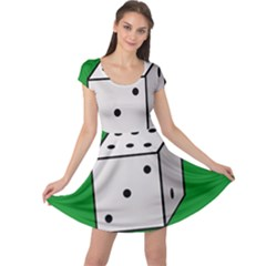 Dice  Cap Sleeve Dresses