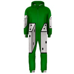 Dice  Hooded Jumpsuit (Men)