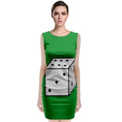 Dice  Classic Sleeveless Midi Dress