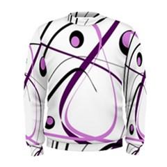 Pink elegant design Men s Sweatshirt
