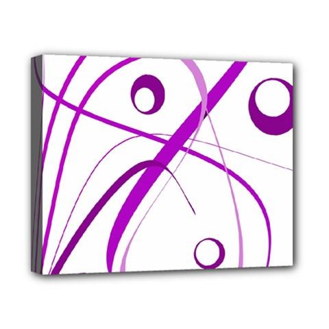 Purple elegant design Canvas 10  x 8