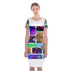 Pizap Com14616118485632 Classic Short Sleeve Midi Dress