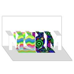 Pizap Com14604792917291 MOM 3D Greeting Card (8x4)