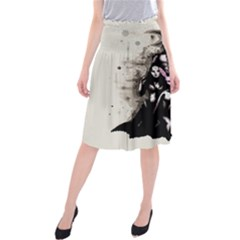 No Rest For The Wicked Midi Beach Skirt