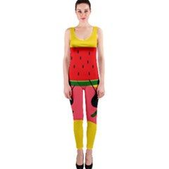 Ants and watermelon  OnePiece Catsuit