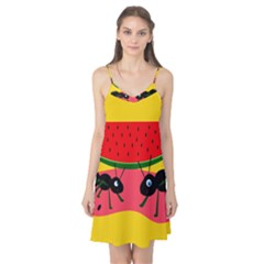 Ants and watermelon  Camis Nightgown