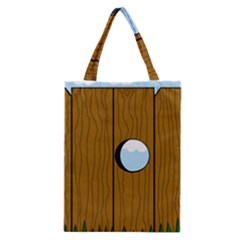 Over the fence  Classic Tote Bag