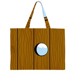 Over the fence  Large Tote Bag