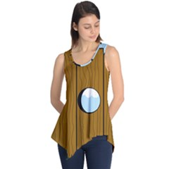 Over The Fence  Sleeveless Tunic