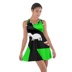 Wolf And Sheep Racerback Dresses