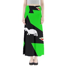 Wolf and sheep Maxi Skirts