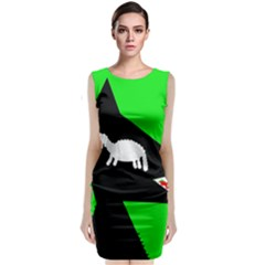 Wolf And Sheep Classic Sleeveless Midi Dress