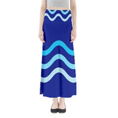 Blue waves  Maxi Skirts