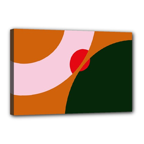 Decorative abstraction  Canvas 18  x 12