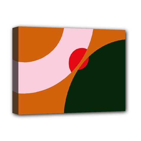 Decorative abstraction  Deluxe Canvas 16  x 12