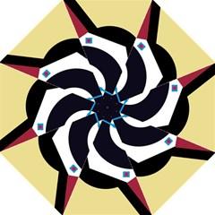 Digital abstraction Folding Umbrellas