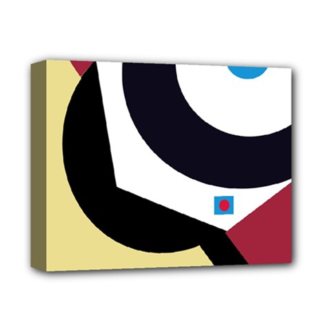 Digital abstraction Deluxe Canvas 14  x 11